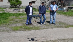 Drone ile metal tarama cihazı projesiyle final hakkı kazandılar