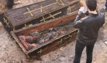 İnşaat kazısında Rus komutana ait mezar çıktı!