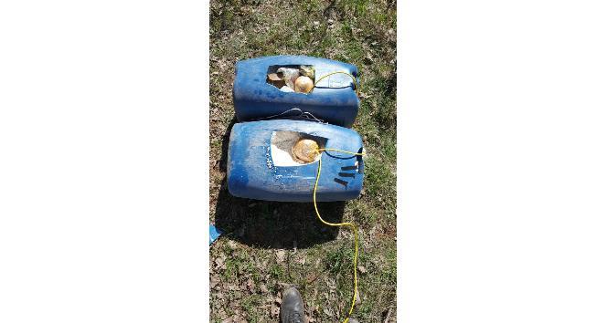 Bitliste 150 kilo patlayıcı imha edildi