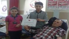 Kan bağışına yoğun ilgi gösterdiler