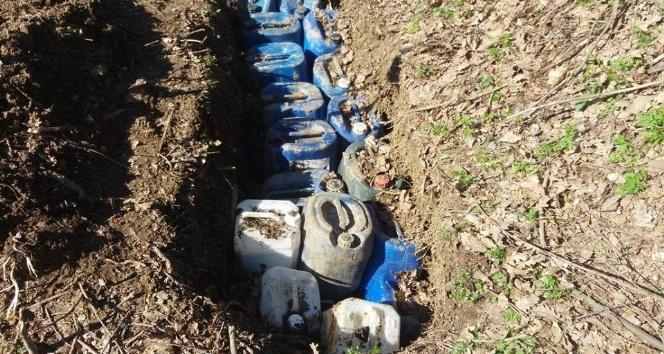 Bitliste yaklaşık 2 buçuk ton patlayıcı imha edildi