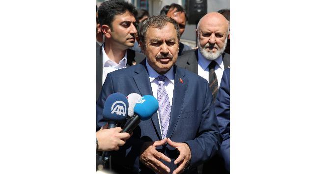 Orman ve Su İşleri Bakanı Prof. Dr. Veysel Eroğlundan, CHPye AİHM eleştirisi: