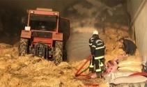 Kahramanmaraşta besi çiftliğinde yangın