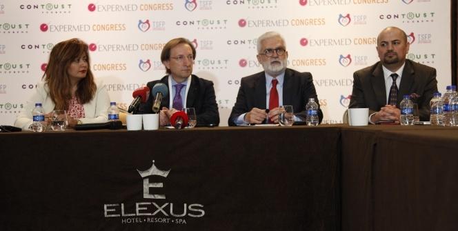II. Uluslararası Expermed Kongresi Girne'de başladı