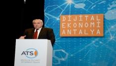 """ATSOnun """"Dijital Ekonomi Antalya"""" etkinliği büyük ilgi çekti"""