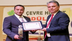 Antalya OSBye üçüncü çevre ödülü