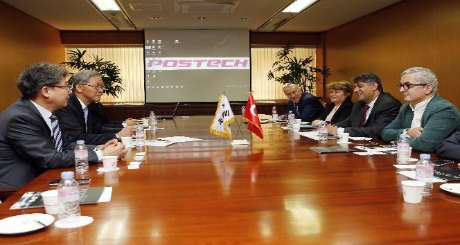 Karabük Üniversitesi ve Kardemir A.Ş.den Güney Koreye iş birliği ziyareti
