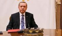 Erdoğan Barzani'yi kabul ediyor