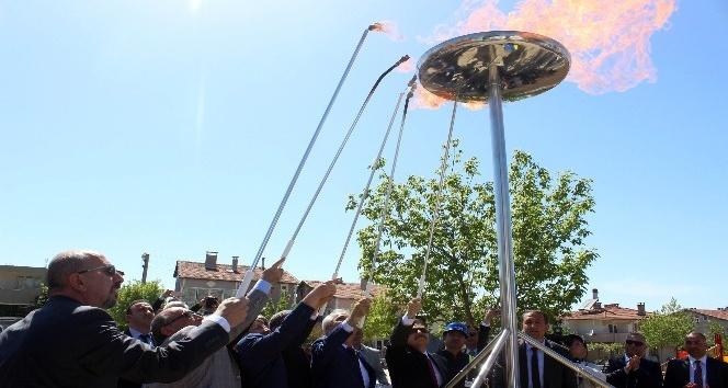 GAZDAŞ, doğal gaz yakma töreni ile Keşan ilçesine doğal gaz sunmaya başladı