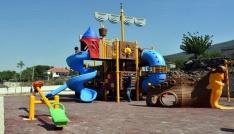 Aliağa Karakuzu Mahallesine modern park