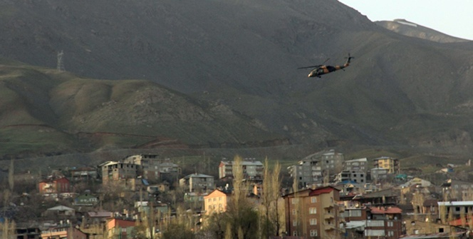 Hakkari'de mayına basan 4 asker hafif yaralandı