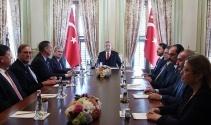 Erdoğan Atlantik Konseyi Yönetim Kurulu'nu kabul etti