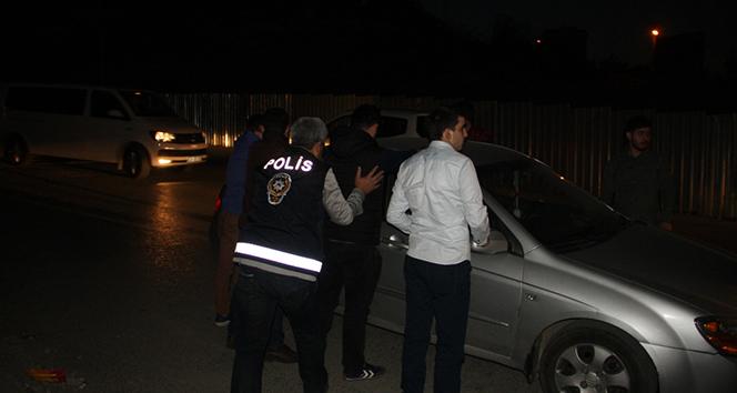 """İstanbulda helikopter destekli """"Yeditepe Huzur Uygulaması"""""""