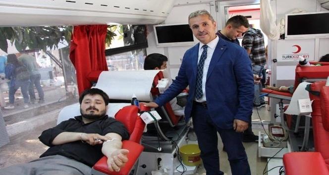 Şaphanede rekor kan bağışı