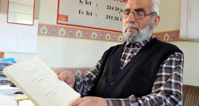 Şemseddin Ahmed Sivasinin torunlarından Şeyh Ömerin yazdığı kitabı taksiciler çöpte buldu