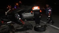 Elazığda iki ayrı kaza:2 yaralı