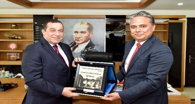 KKTC Başbakan Yardımcısı Denktaş Antalyada