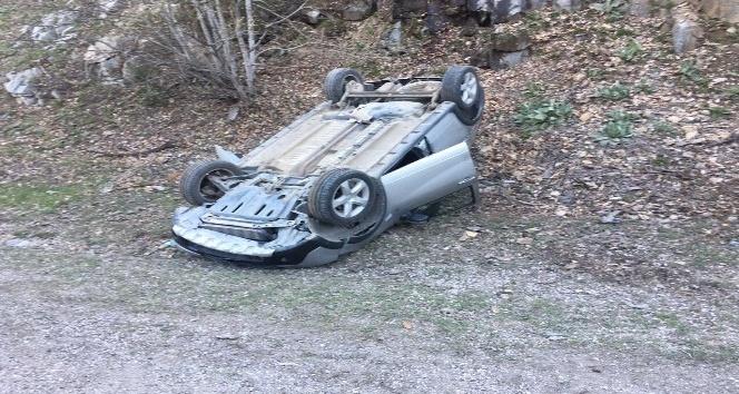 Domaniçte trafik kazası: 1 yaralı