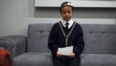 11 yaşındaki Meryemden Cumhurbaşkanına mektup