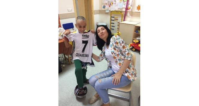 Kanser hastası 9 yaşındaki Murata Quaresma forması