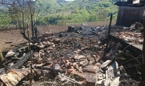 Alevlerin arasında kalan kadının cesedi bulunamadı