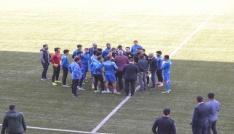 Dersimspor-Çatalcaspor maçı tatil edildi