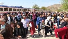 Elazığda trenle tarihe nostaljik yolculuk