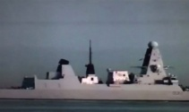 İngiliz savaş gemisi İstanbul Boğazından ikinci kez geçti