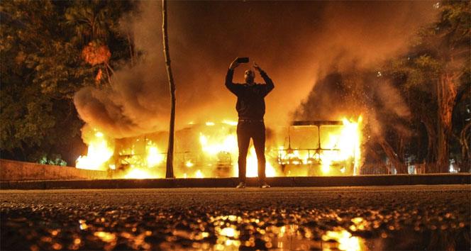 Brezilyada genel grevde çatışmalar yaşandı