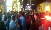İstiklal Caddesi'nde hareketli gece!