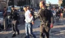 İsrail polisinden açlık grevindeki esirlere destek gösterisine müdahale