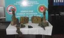 Zonguldak Limanı'nda operasyon! Anti-tank füzesi ele geçirildi...