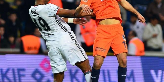 Başakşehir Beşiktaş maçından kareler