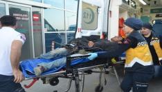 Bafrada 1 kişi bıçakla yaralandı
