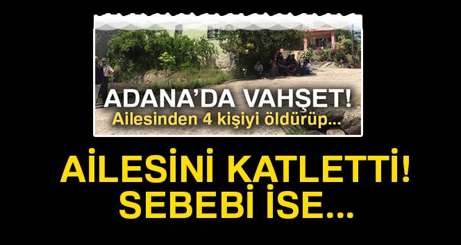 Adana'da 'sudan sebep' vahşet