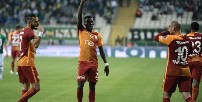 Bursaspor Galatasaray maçından özel kareler