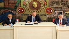 Gümüşhane İl Genel Meclisinin Mayıs ayı toplantıları başladı