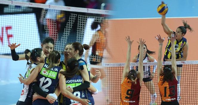 Fenerbahçe, Galatasarayı mağlup ederek şampiyon oldu| Vestel Venüs Sultanlar Ligi: Galatasaray: 0 - Fenerbahçe: 3