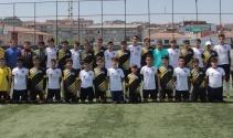 Suriyeli Çocuklar Futbol Ligi'nin şampiyonu belli oldu