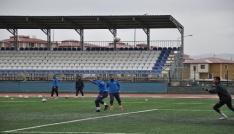 Kars36spor Sarıkamış maçı hazırlıklarını sürdürüyor