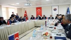 Aras Edaş yatırımları değerlendirme toplantısı yapıldı