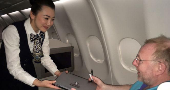 THYnin ABD uçuşlarında dizüstü bilgisayar dönemi