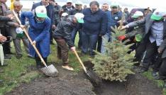 Karsta 15 Temmuz Hatıra Ormanı oluşturuldu