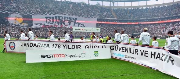 Beşiktaş Fenerbahçe maçından özel kareler