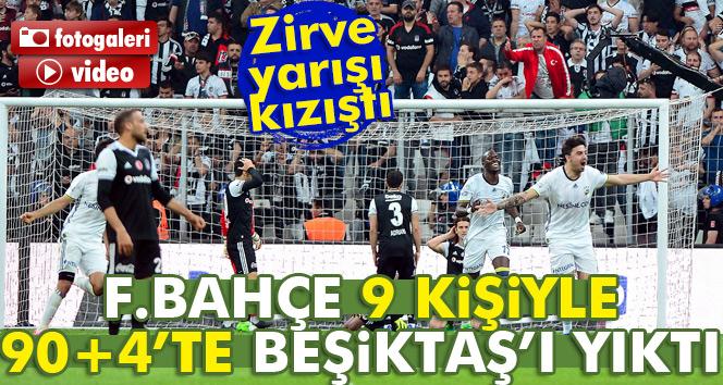ÖZET İZLE: Beşiktaş 1-1 Fenerbahçe| BJK Fenerbahçe maçı geniş özeti ve golleri izle