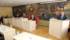 Gümüşhane İl Genel Meclisinin Mayıs ayı toplantıları sona erdi