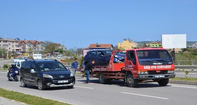 Sinopta trafik kazası