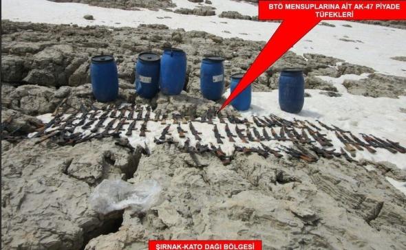 TSK: 'Bin 127 sığınak kullanılamaz hale getirildi'