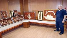 35 yıldır Naht sanatını Yozgatta yaşatıyor