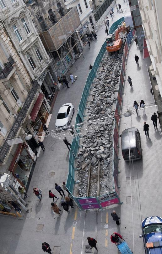 İstiklal Caddesi çalışmaların ardından böyle olacak